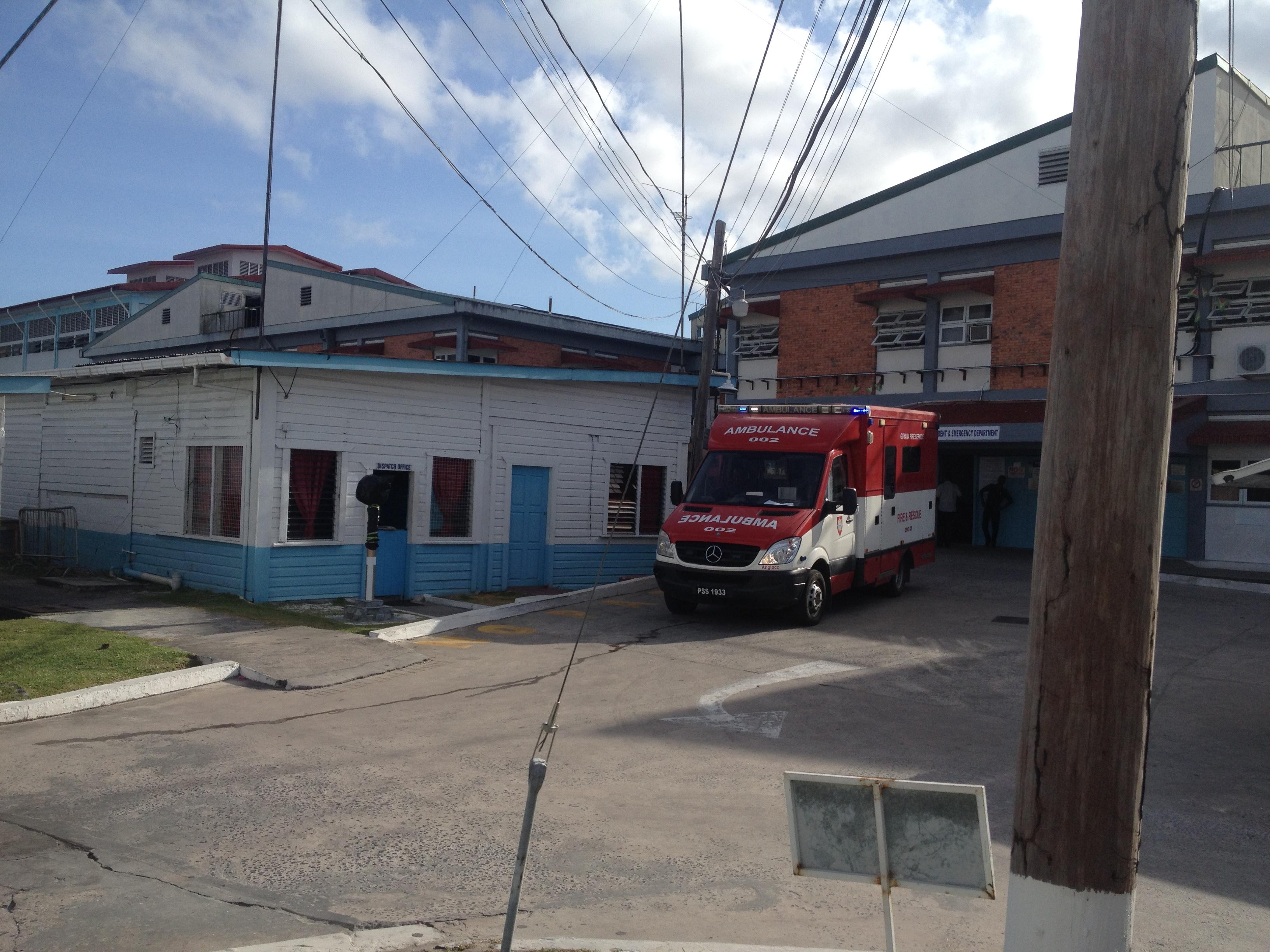FGHL Blog: Kim Pruett - Georgetown Public Hospital in Guyana