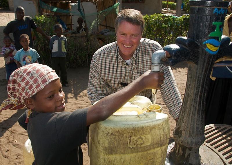 Senator Bill Frist water
