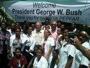 george bush w indepco leaders