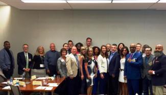 Faith Meeting - Group Photo