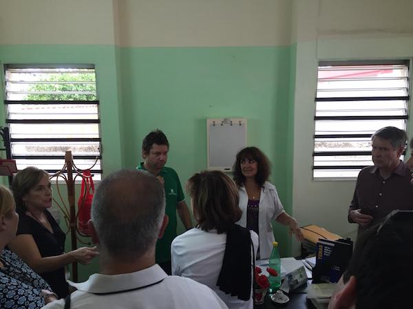 Bill Frist Cuba healthcare