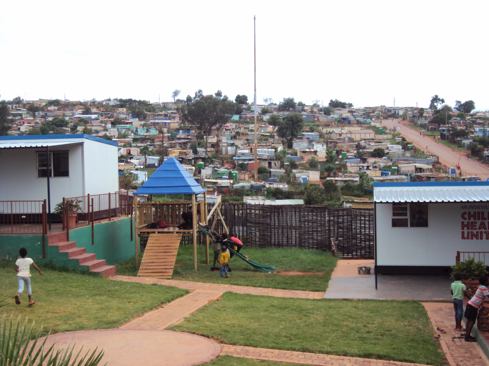 Hope Park, and the informal settlement just beyond