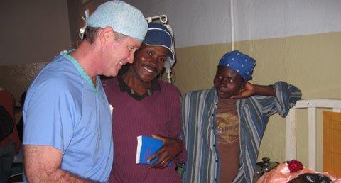 Haiti Frist with woman at BMH
