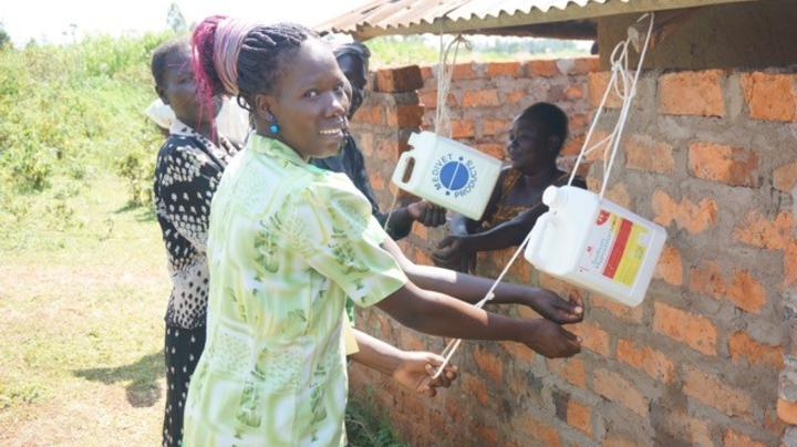 Women using Tippy water