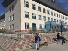 Outside of hospital